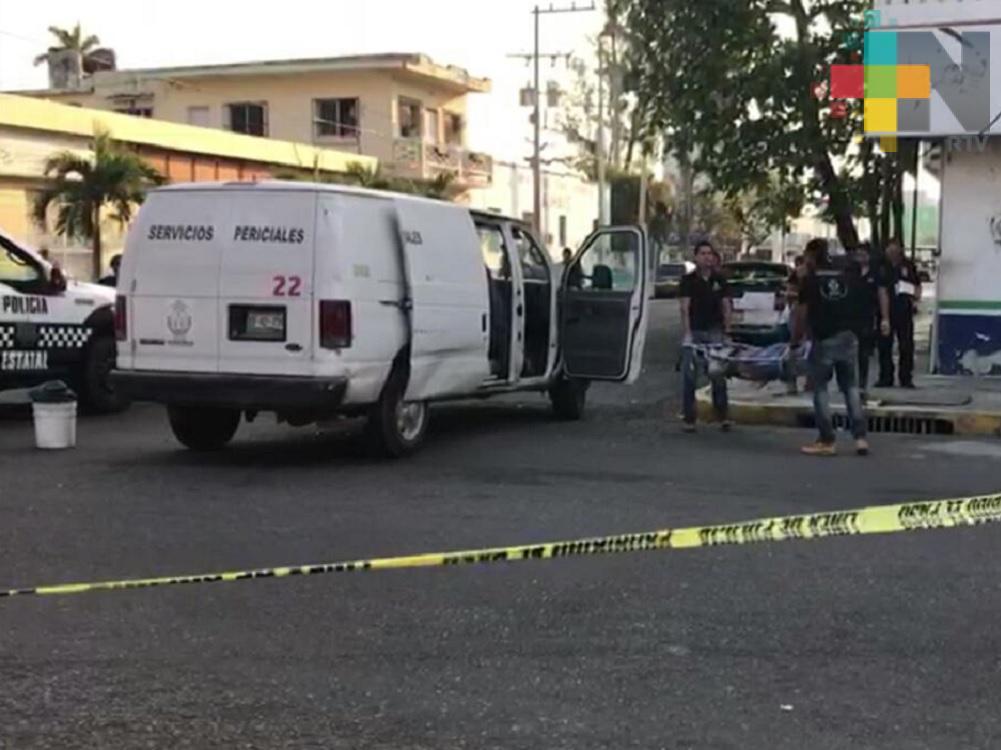 Fallece hombre en calles del municipio de Veracruz