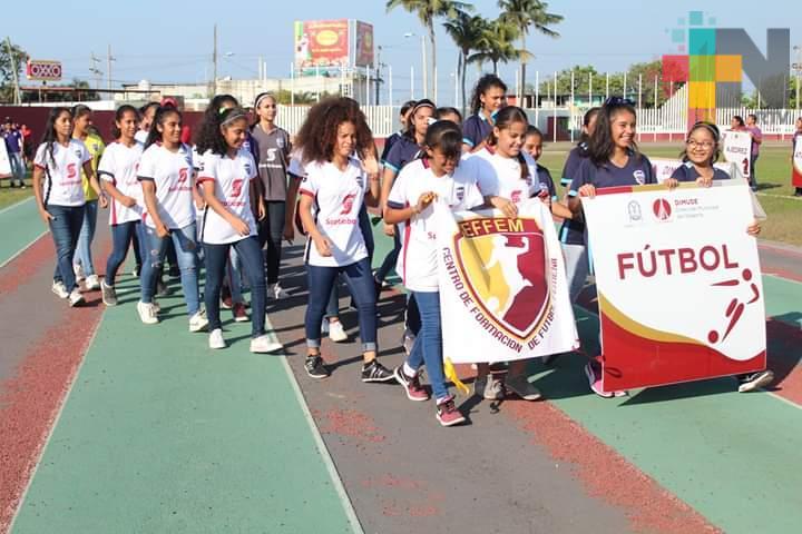 Selectivos de futbol de Coatzacoalcos rumbo a Olimpiada Estatal