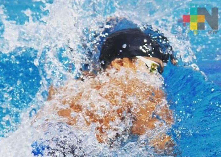 Jonahs Acencio a Grand Prix de Natación en Monterrey