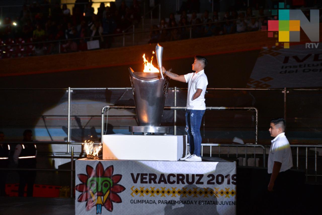 Inaugura SEV Olimpiada, Paralimpiada y Estatal Juvenil Veracruz 2019