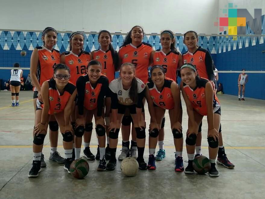 Equipo de voleibol de Coatzacoalcos avanzó a Olimpiada Regional