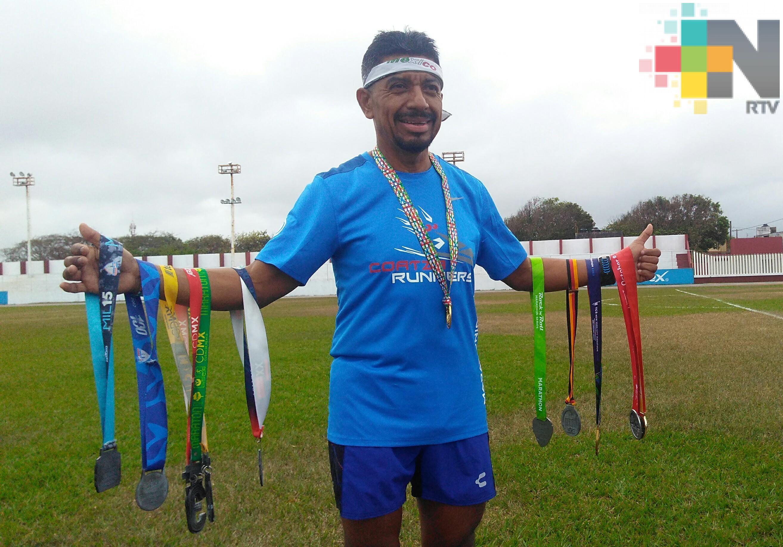 Pascual Vásquez busca correr los seis majors del Maratón