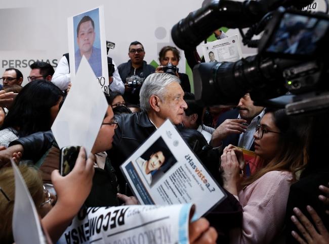 Garantiza López Obrador todos los recursos e infraestructura para búsqueda de personas desaparecidas