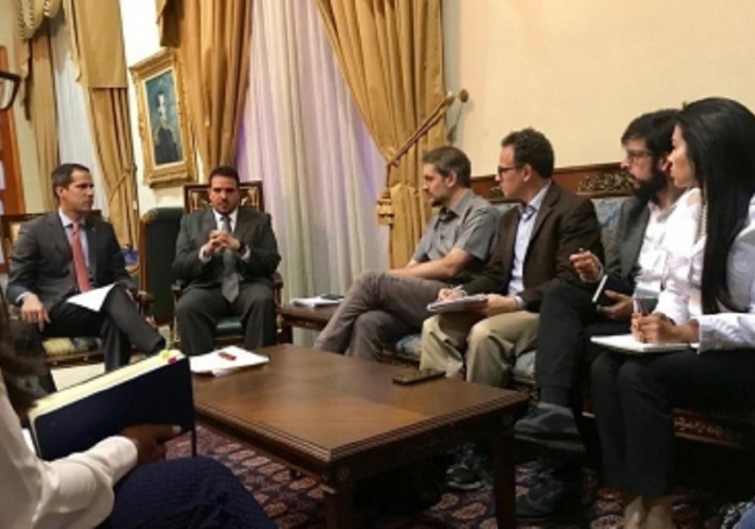 Misión de ONU se reúne con oficialismo y oposición en Venezuela