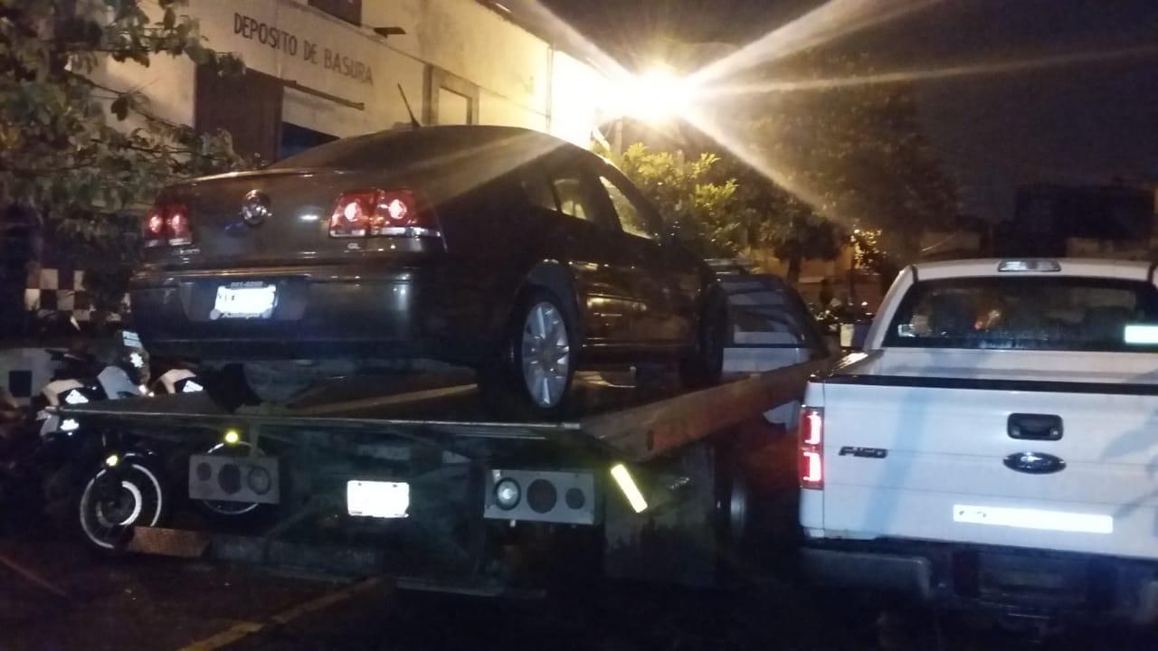 Recuperan vehículos con reporte de robo; dos detenidos