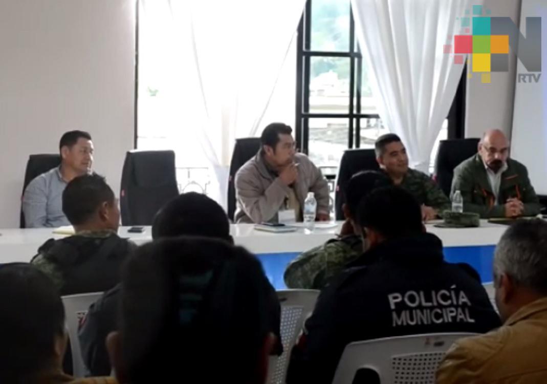 Continúan reuniones de seguridad en la región huasteca