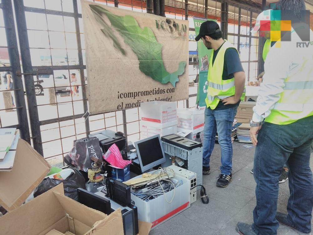 Realizó la UV Reciclatón en Campus Mocambo; lo recaudado será para labor altruista