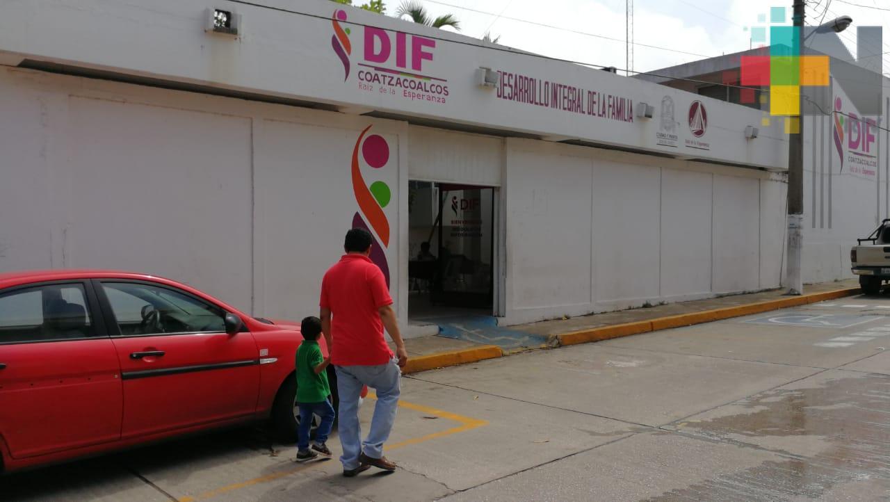 Instalará DIF videovigilancia en salas de convivencia de Coatzacoalcos