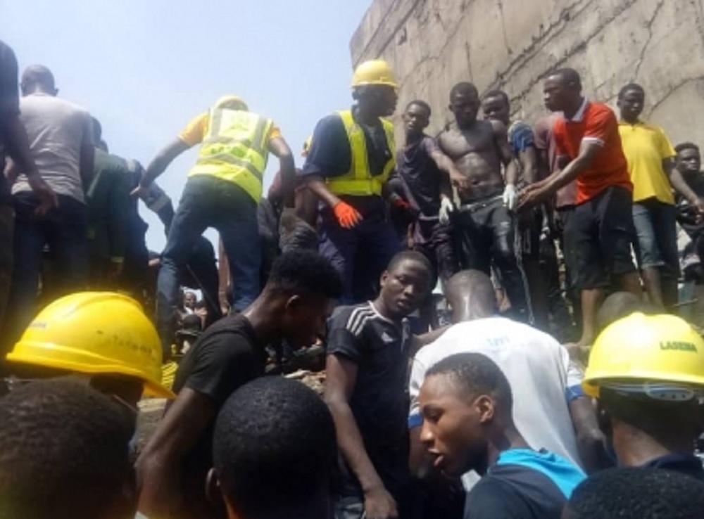 Fin a labores de rescate en Nigeria, nueve muertos al colapsar edificio