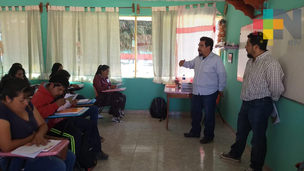Inicia ciclo escolar de la Universidad para el Bienestar, en Huayacocotla