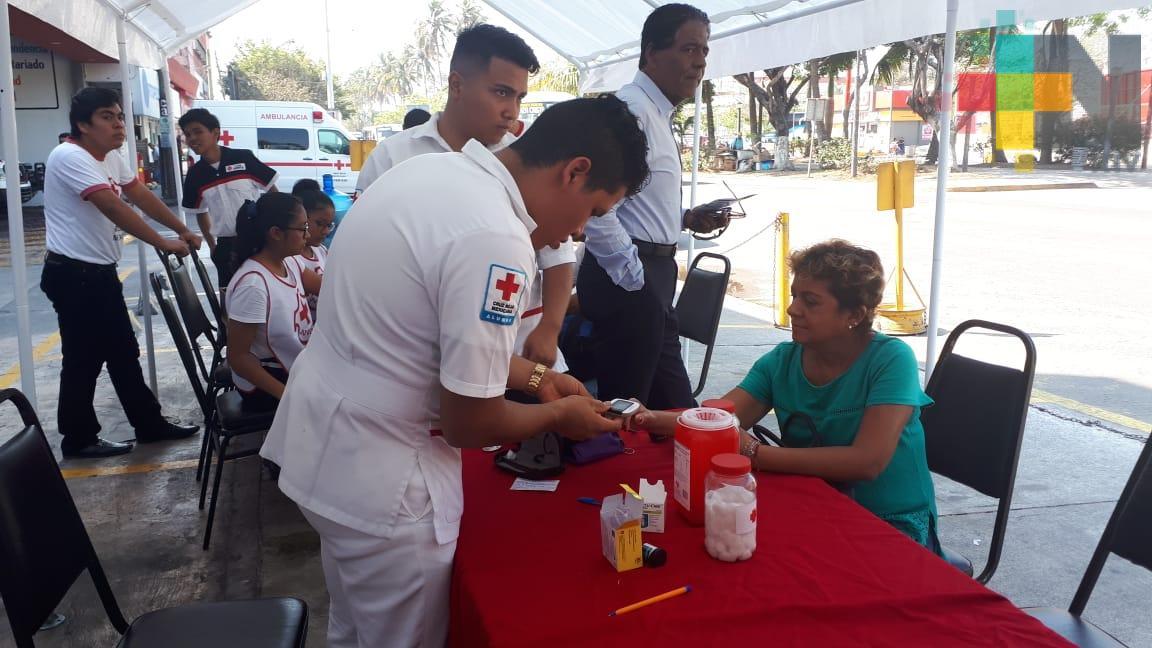 Cruz Roja Veracruz realizó jornada médica
