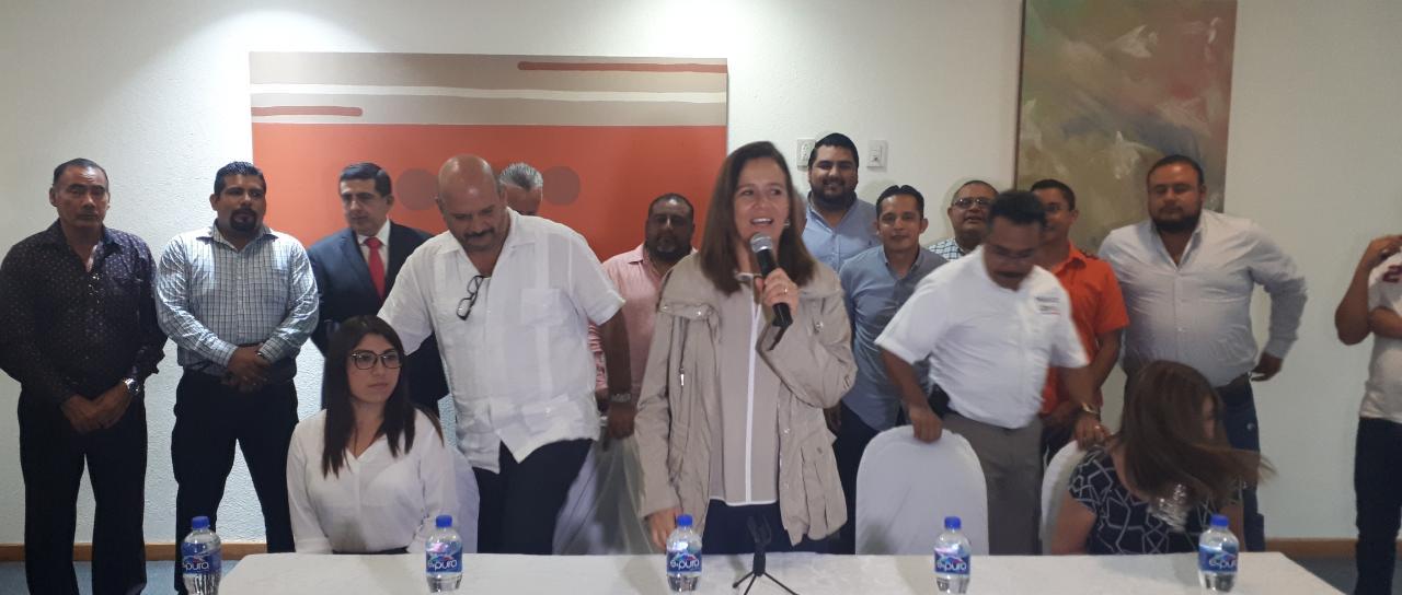 Promueve Margarita Zavala su nuevo partido político