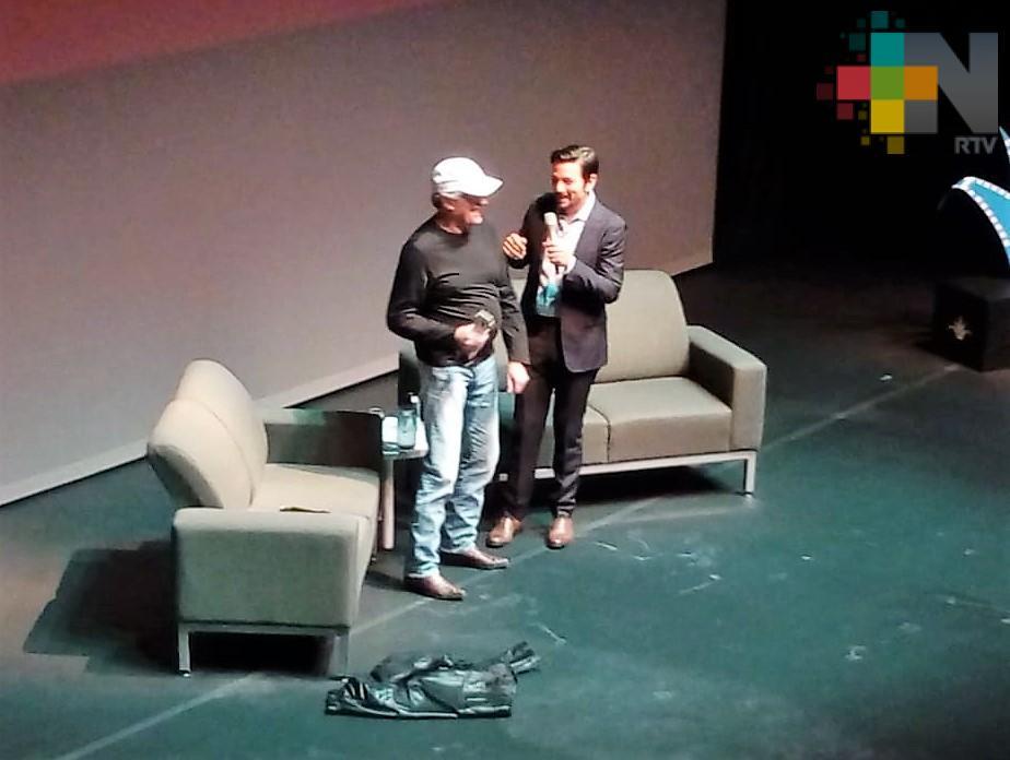 """El director Álvaro Curiel de Icaza presentó su largometraje """"Marioneta"""", en el Festival Internacional de Cine en Guadalajara"""