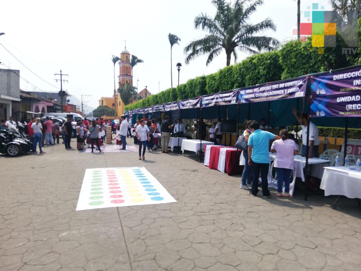 Realizan Feria por la Seguridad en Amatlán