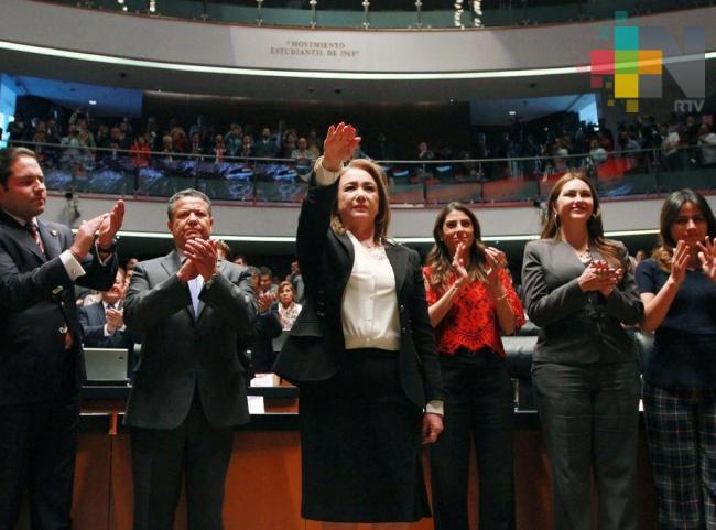 Pleno del Senado elige a Yasmín Esquivel como nueva ministra de la SCJN