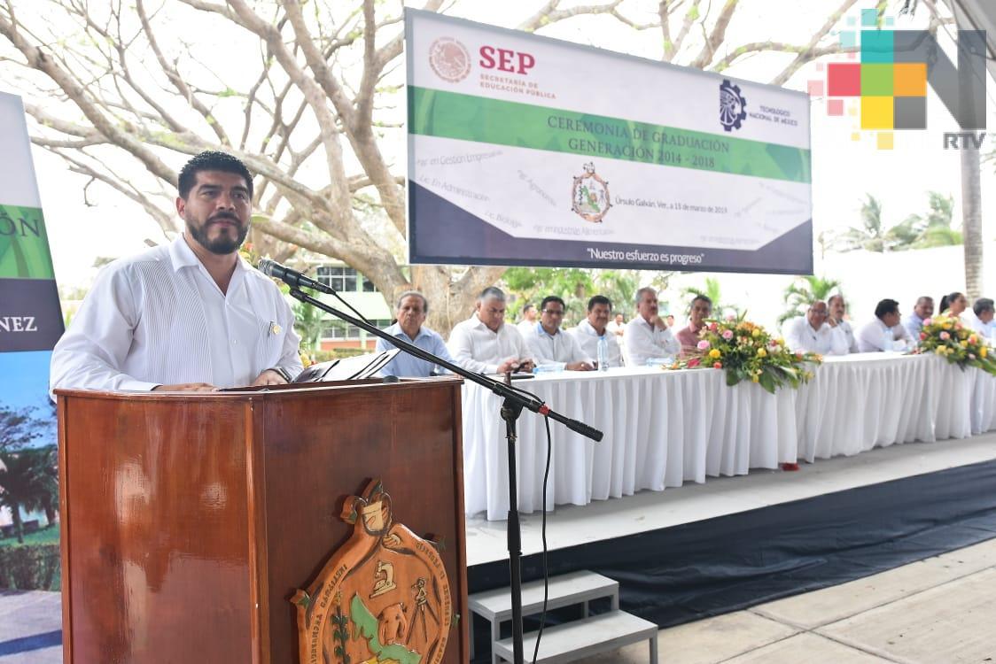 Veracruz, ejemplo de educación tecnológica: SEV
