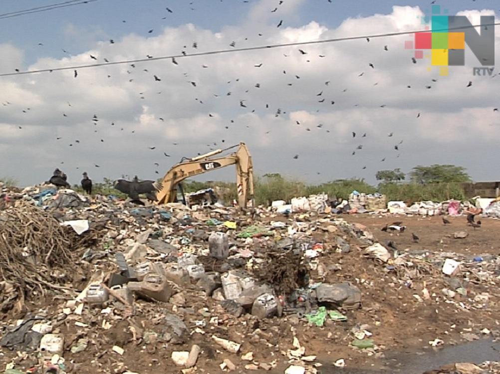 Buscan clausurar basurero a cielo abierto ubicado en predio de Las Matas