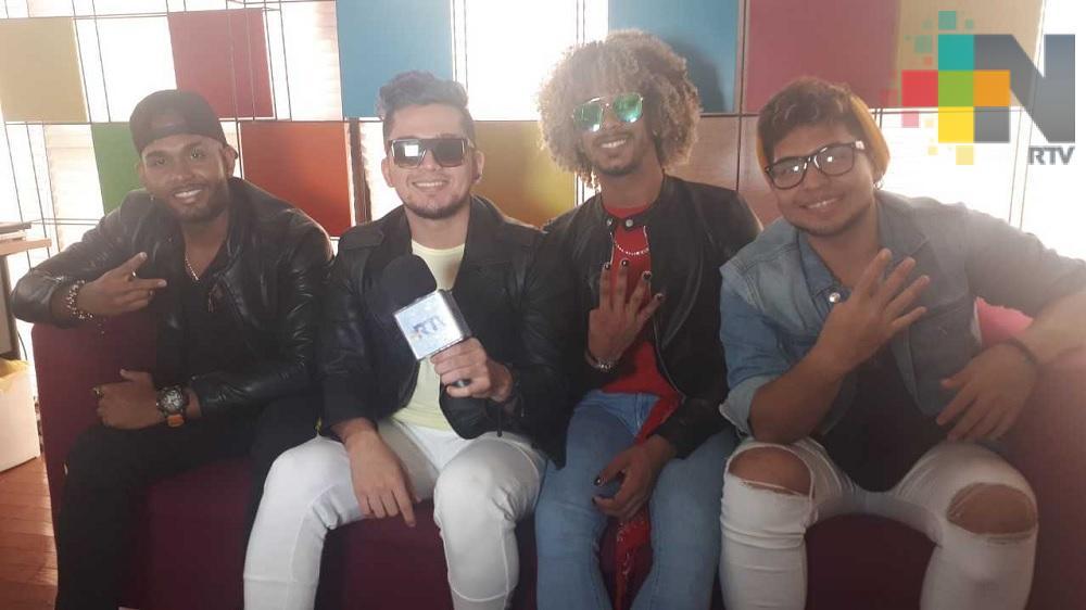 «4U» promociona en Veracruz su sencillo debut «Bidi Bidi Boom Boom»