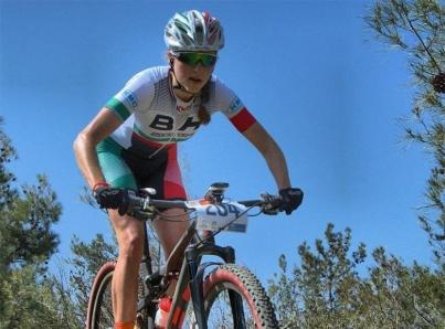Ciclista mexicana Daniela Campuzano con oro en Copa UCI Puerto Rico