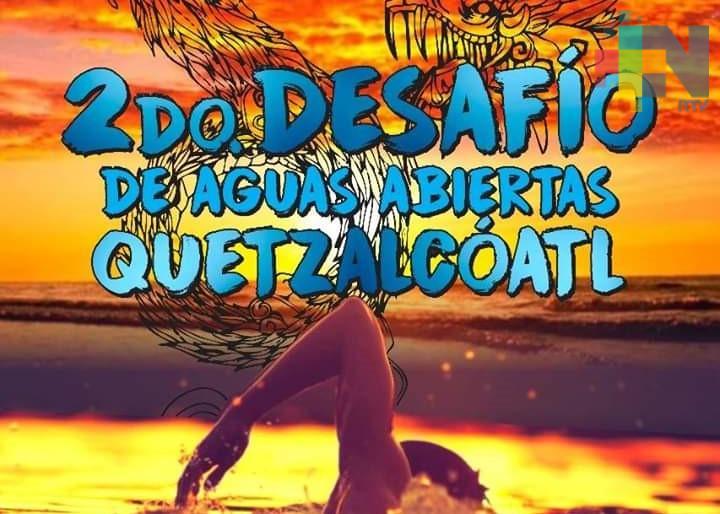 Convocan a Desafío de Aguas Abiertas Quetzalcóatl