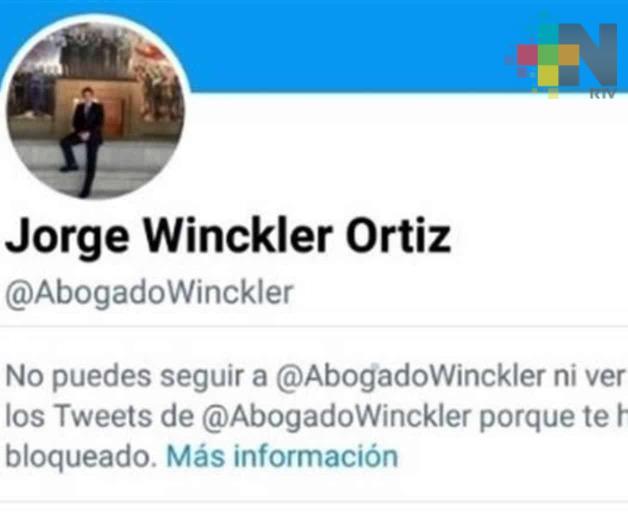Mi trabajo periodístico abonó a que Winckler se molestara: Miguel Ángel León Carmona