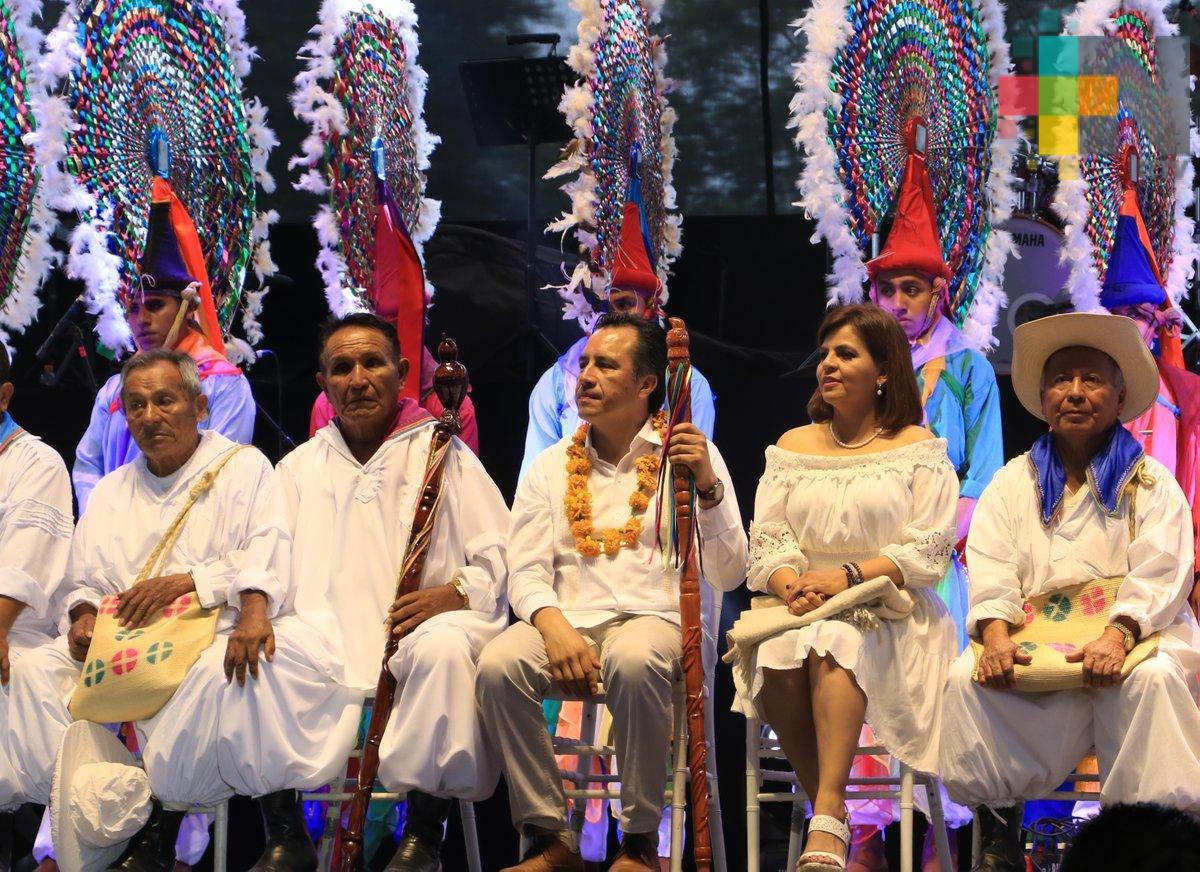 El gobernador Cuitláhuac García Jiménez inauguró la vigésima edición de Cumbre Tajín