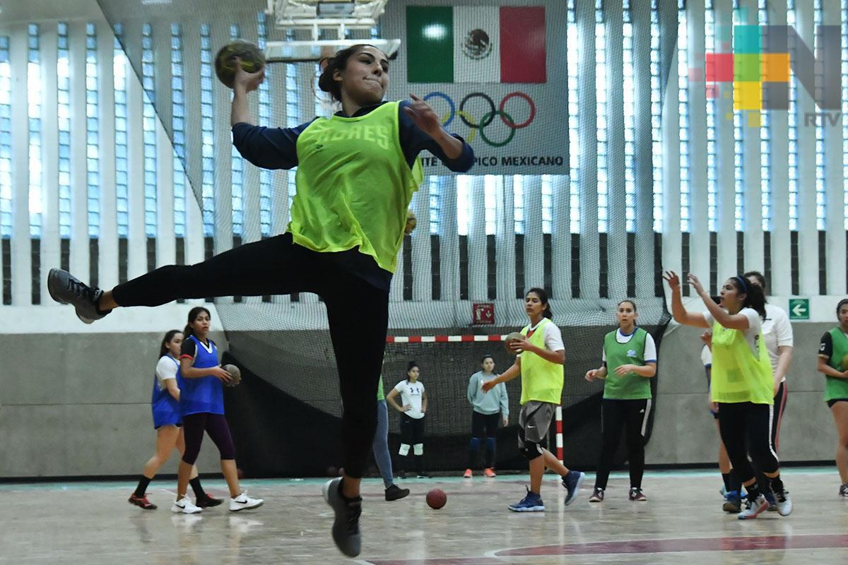 México por el pase en handball femenil para Lima 2019