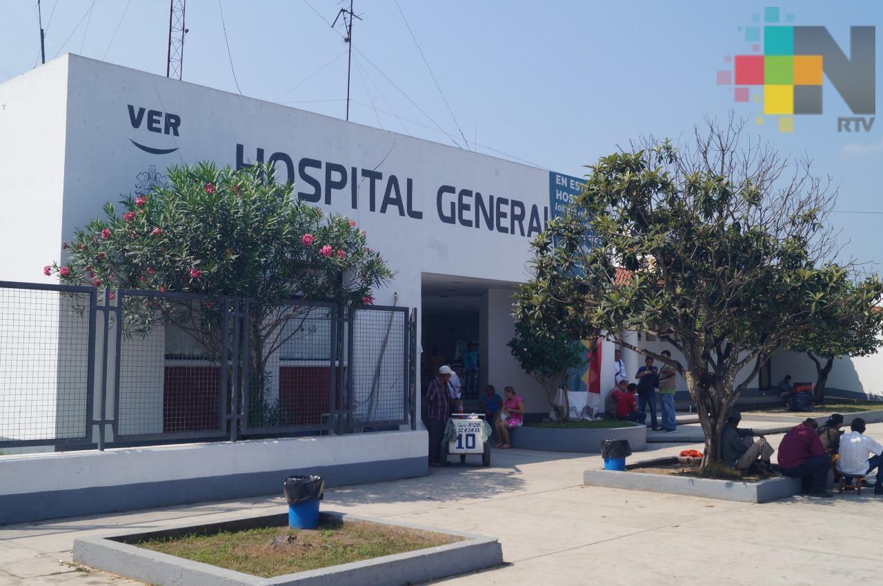 Necesario mejorar los servicios en el hospital de Martínez de la Torre