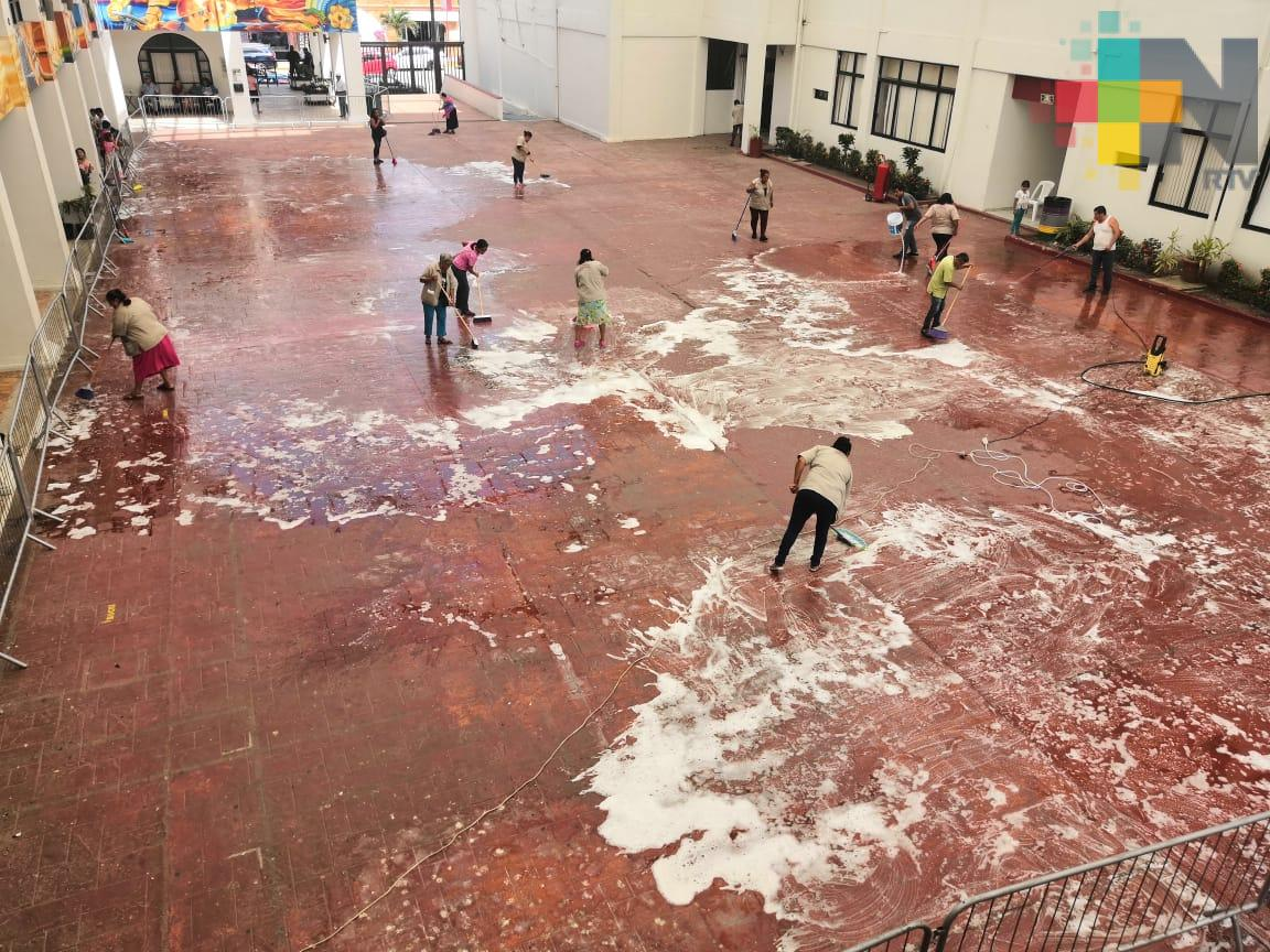 Trabajando, conmemoraron el Día Internacional de la Mujer en el palacio municipal de Coatzacoalcos