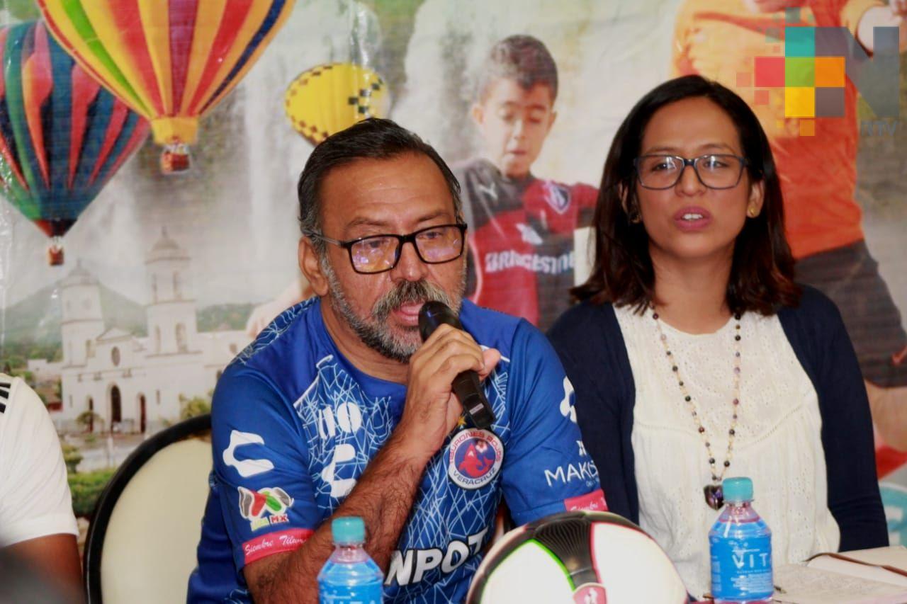 Arrancó la Copa Belén 84 de futbol en San Andrés Tuxtla