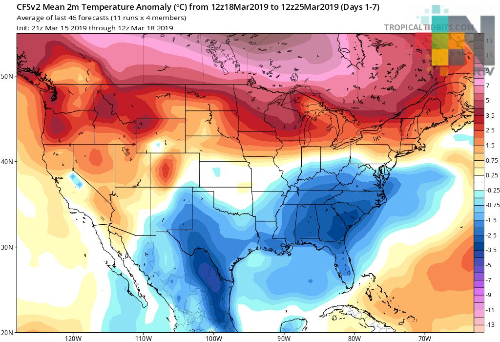 Lluvia acumulada y temperatura media dentro o por arriba del promedio se estiman de abril a mayo