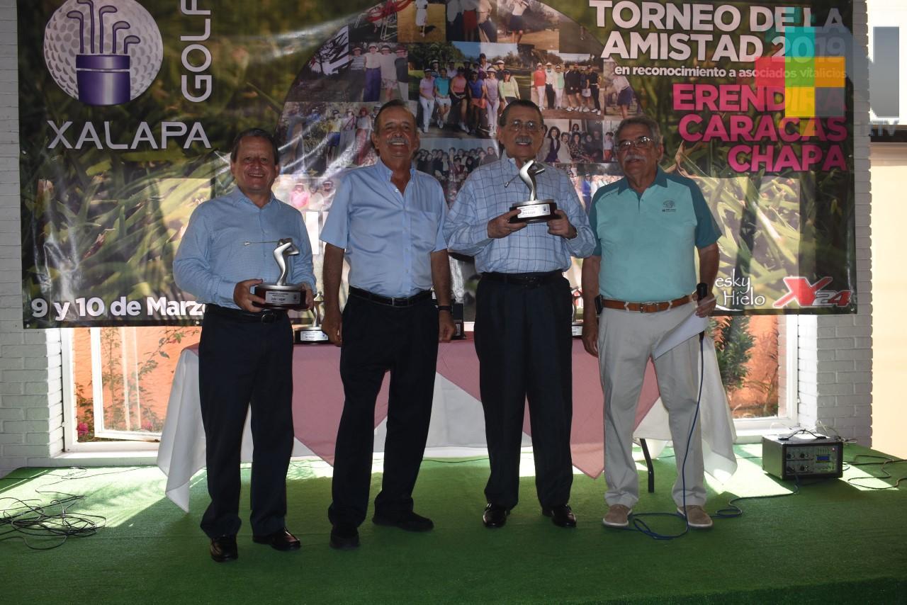 Pedro Medina y Fernando Benítez ganan el torneo de Golf de parejas