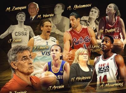 Tres latinos ingresarán al Salón de la Fama del basquetbol mundial