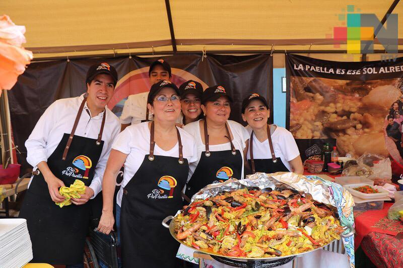 Realizan el Festival de la Paella, en Tlacotalpan