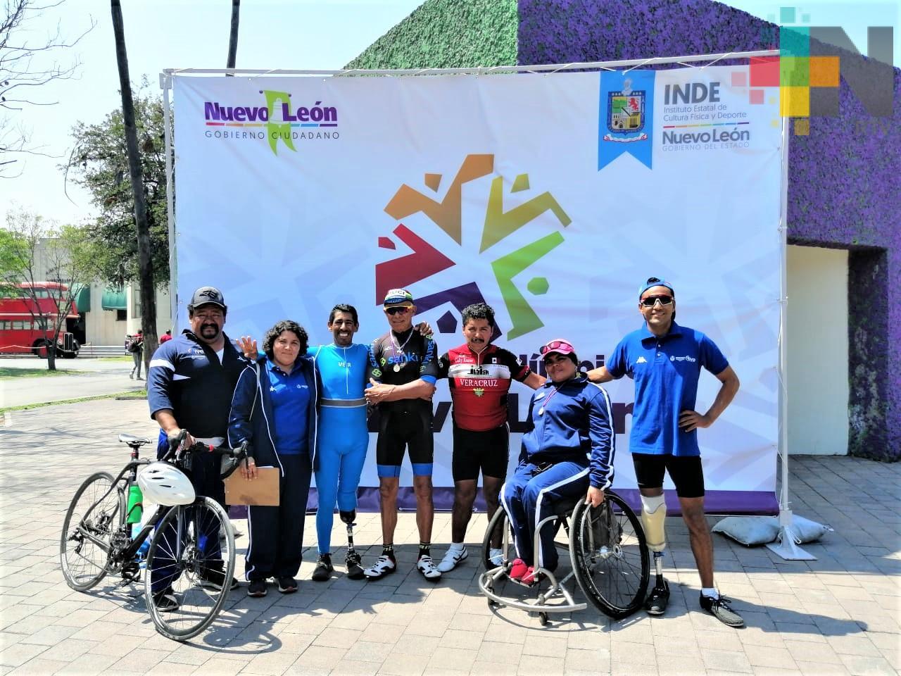 Destacan paraciclistas veracruzanos en Serial Nacional 2019