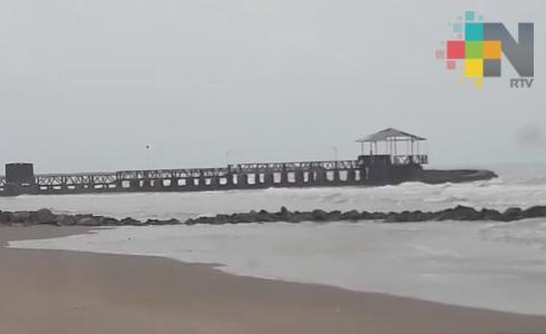 Sin afectaciones en el puerto de Tuxpan por el paso del FF 44