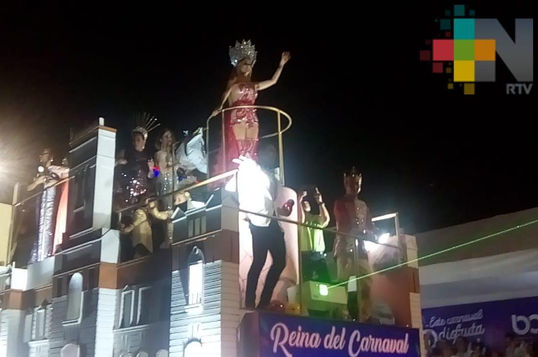 Inicia el primer desfile del Carnaval de Veracruz 2019