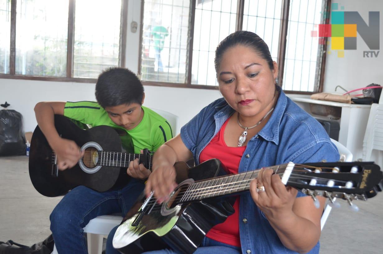 Ofrecen talleres culturales gratuitos en Tantoyuca