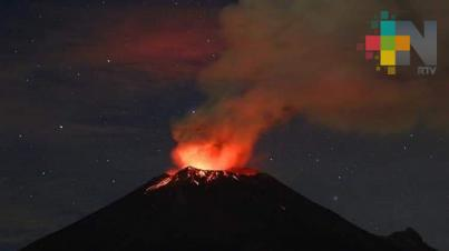 Llama Protección Civil a no acercarse al cráter del Popocatépetl