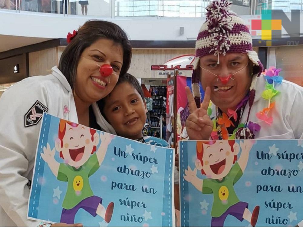 """PayaCoatza CLOWN Hospitalario"" realiza intensa jornada de trabajo en Coatzacoalcos"