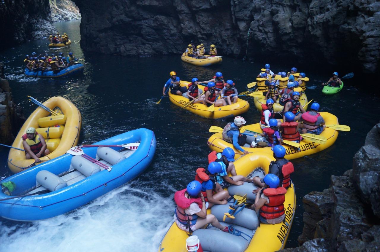 Hasta 2 mil turistas al día recibió cascada El Encanto de Tlapacoyan