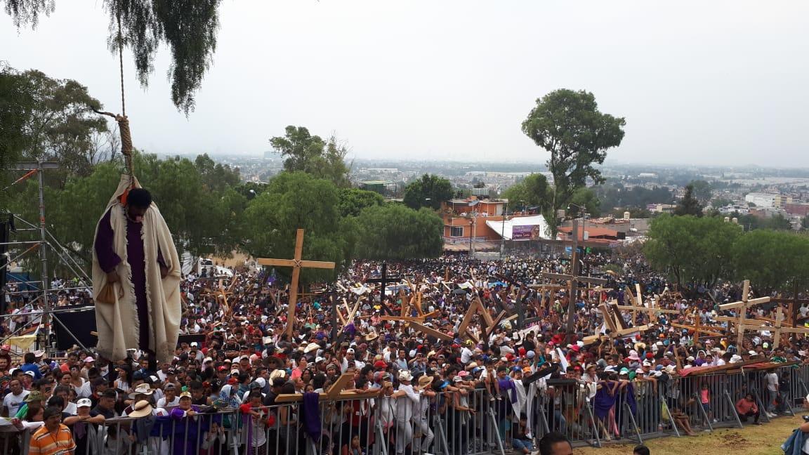 Pasión de Iztapalapa terminó sin incidentes, va para Patrimonio Mundial