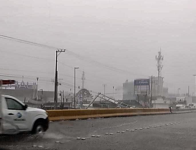 Continuarán fuertes lluvias en el sur de Veracruz por tormenta tropical Cristóbal