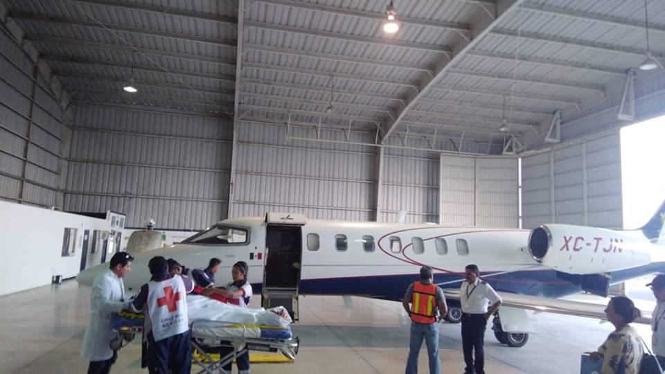 Brinda la Dirección General de Aeronáutica otro apoyo en caso de emergencia