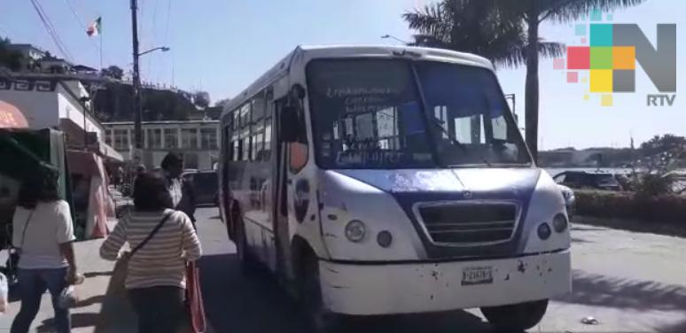 Continúa operativo para evitar aumento a tarifas del pasaje