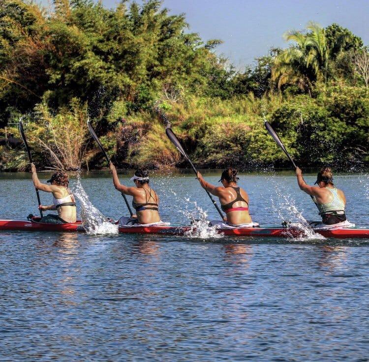 Kayakistas mexicanos afinan detalles, en Tuxpan, para Juegos Panamericanos