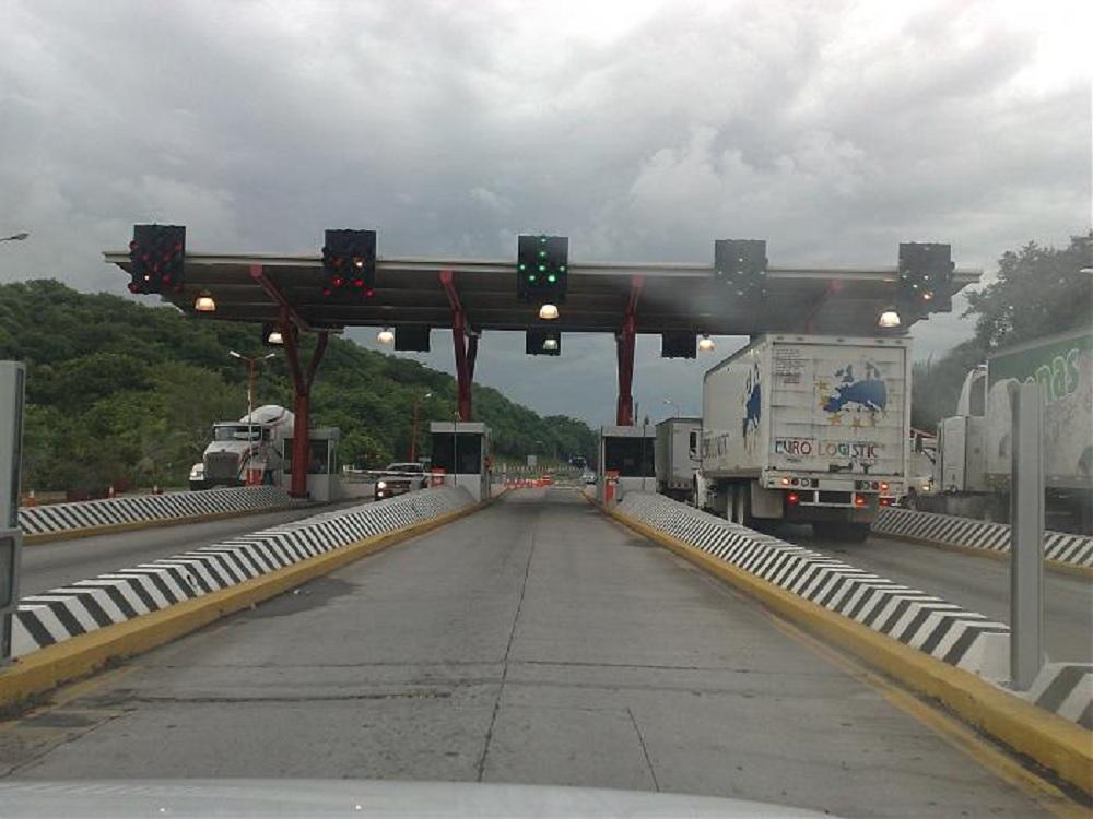 Este viernes se espera mayor afluencia vehicular en caseta de La Antigua