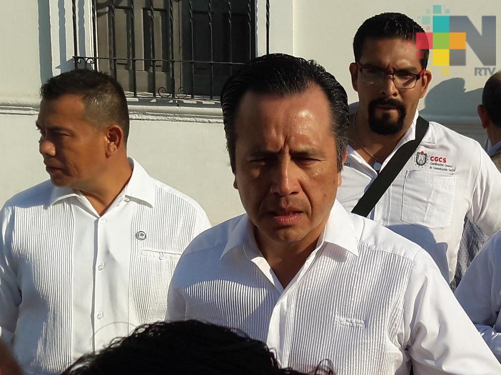 Coordinación de los tres poderes se mantendrá para garantizar la seguridad: Cuitláhuac García