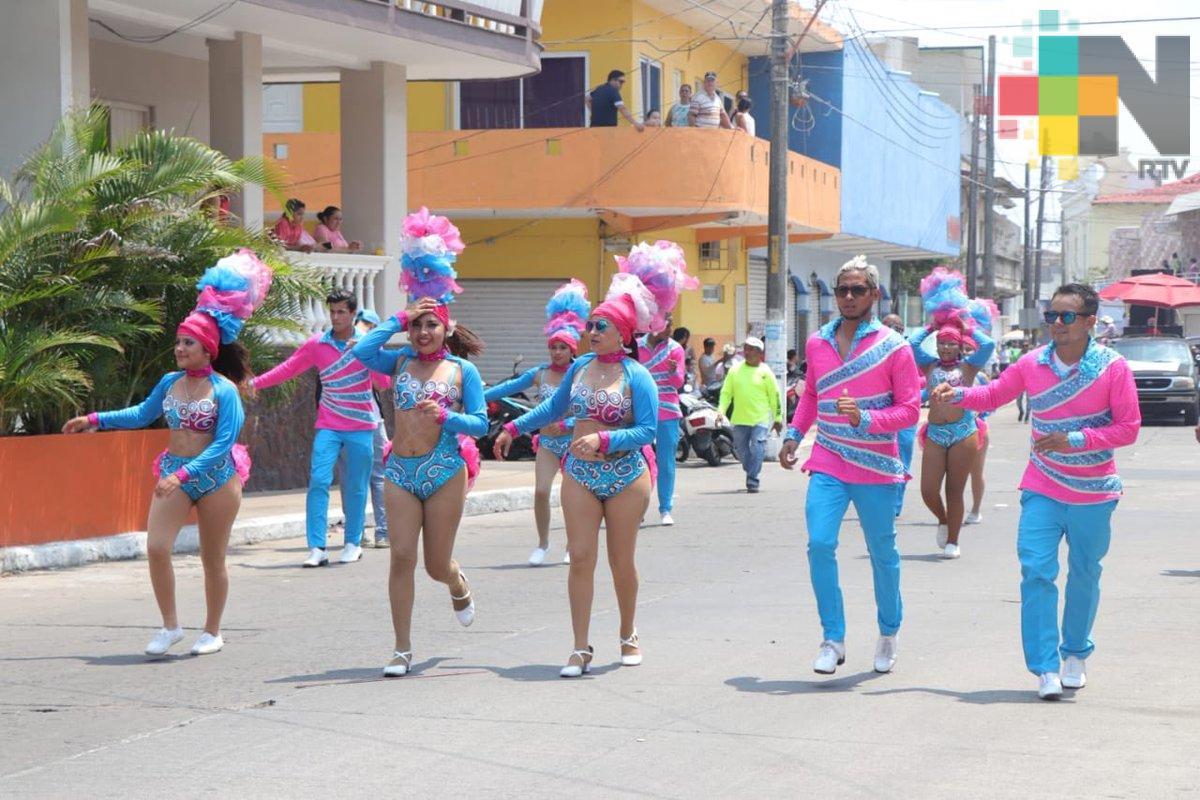 Inició el Carnaval de Alvarado