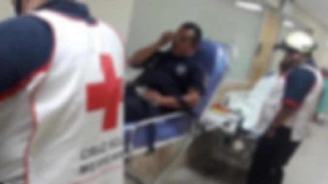Enfrentan policías Estatal y Federal a civiles armados, en Maltrata
